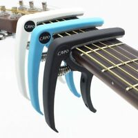 Plastic Guitar Capo For 6 String Acoustic Tuning Tool