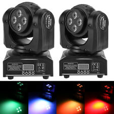 Double Side 90W RGBW LED Spot Moving Head Light DMX512 Stage Party DJ Lighting