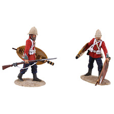 Britains Soldiers Zulu 20167 Clearing The Yard Set No3 - 2 Pc Ltd. Ed. of 450