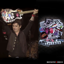Billie Joe guitar stickers 2017 Gibson Les Paul Junior BJ decals Green Day set