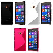 Funda para nokia Lumia 720 GEL de SILICONA S-LINE Piel Duro Antichoque Teléfono