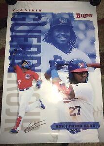 Vladimir Guerrero jr RARE Buffalo Bisons Poster 24x36 Toronto Blue Jays-Vlad