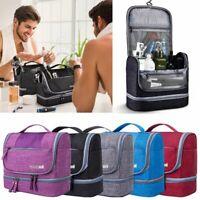 Waterproof Hanging Travel Toiletry Bag Organizer Kit Makeup Pouch Wash Bag Case