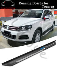 2PCS Running Boards Side Step Nerf Bars fits for VW Touareg 2011-2018