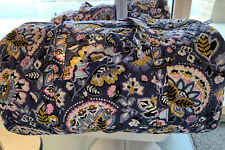 Vera Bradley Charmont Meadow Large Traveler Duffel Weekend Bag