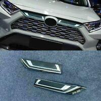 Car Front Center Mesh Grille Cover Radiator For Toyota RAV4 Limited Hybrid 2019