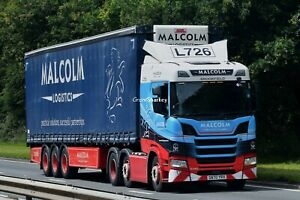 Truck Photos Scottish WH Malcolm Scania R450 & Tautliner SN70 YRX  L726
