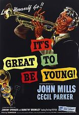 IT'S GREAT TO BE YOUNG (John Mills) - DVD - Region Free - Sealed