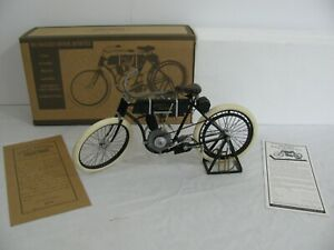 Xonex 1/6 Scale Die-Cast Replica 1903-1904 Harley Davidson Motorcycle VG