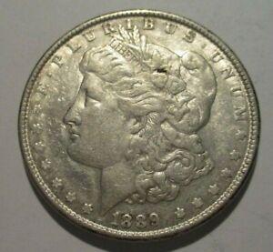 1889 United States Morgan Silver Dollar No Mint Mark