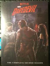 New DAREDEVIL Complete Season 2 DVD Set Netflix EMMY UK addition
