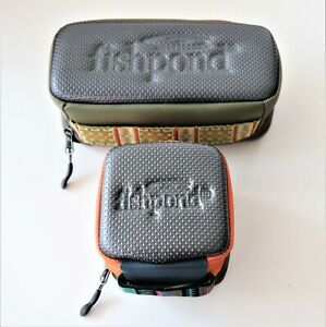 Fishpond 2 Reel Case and 4 Reel Case Fly Fishing, Travel or Storage