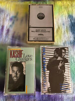 3 Cassette Tapes BARRY WHITE Greatest Hits, KASHIF & SLOW JAMS Classic Soul