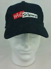Science Baseball Hat pArtScience.com Adjustable Black Cap