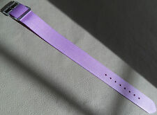 Fille Ado Femmes Lavande Sport Nylon 16mm Court à Normal Bracelet de Montre