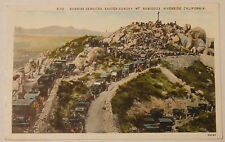 1914 Sunrise Services Easter Sunday Mount Rubidoux Riverside California