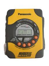 Panasonic ShockWave RQ-SW10 Stereo Radio Cassette Player Walkman Style W/ Strap