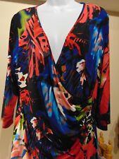 Frank Lyman Designed Stunning Colorful Stretch Bodycon Dress  Cnd/US 16