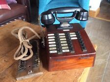 Ultra Raro Antiguo teléfono Nueva era Manchester Lancashire Molino TV Película Prop