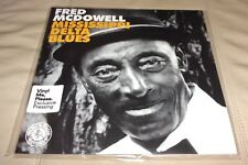 Fred McDowell Mississippi Delta Blues Sealed LP Grey w Black Smoke Colored Vinyl