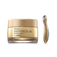[the SAEM] Snail Essential EX 24K Gold Eye Cream Set