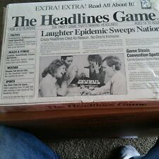 The Headlines Game, The Party game that's Making Headlines, Ages 14 to Adult,New
