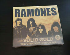 CD DOUBLE ALBUM - RAMONES - SOLID GOLD - GREATEST HITS ON AIR - NEW AND SEALED