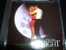 That Night Music From & Inspired By Soundtrack (Australia) CD – Like New