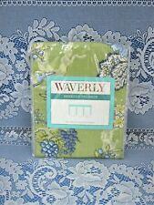 "Waverly Rebecca Valance Casablanca Ceramic 50"" Wide x 18"" Long Greens/Blues New"