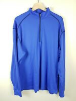 Tommy Armour 1/4 Zip Up Pullover Sweatshirt Golf Blue Men's Size L