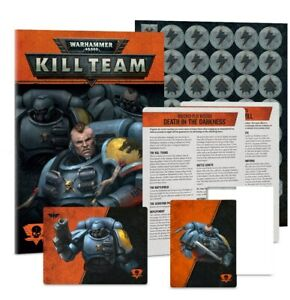 Warhammer 40K Kill Team Fangs of Ulfrich book and cards