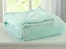 Home Fashion Luxury Velvet Throw Lightweight Plush Soft Cozy Fuzzy Blanket Twin