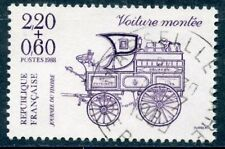 STAMP / TIMBRE FRANCE OBLITERE N° 2525 JOURNEE DU TIMBRE / VOITURE MONTEE