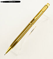 Parker Mechanical Pencil 0.5 mm Insignia Athens gold plated with black stripes