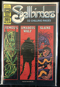 Spellbinders Vol. 1 #1; Grading: VF+/NM- Quality Comics