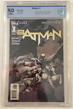 Batman New 52 #1  CBCS 9.0 VF/NM 2011 DC White Pages Not CGC