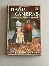 Hand Cameras, a Handbook for the Amateur Photographer, 1913, Hardback