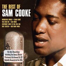 Sam Cooke Best Of 2-CD NEW SEALED You Send Me/Wonderful World/Only Sixteen+