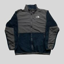 Boys The North Face Fleece Jacket XL Blue/Grey Full Zip Polyester