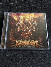 Birth Through Gore ‎– The Culmination Conquest CD Sevared Records ‎Death Metal