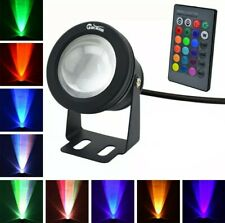 LED Flood Light 10W Waterproof  RGB Light with Remote Contro Durabl