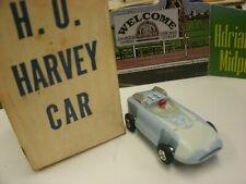 Marx Ho slot car-Harvey car-50+ year old Mint & Can Still Smell the Age