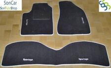 KIA SPORTAGE TAPPETI tappetini AUTO +4 decori +4 block