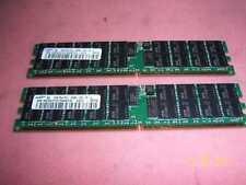 4GB(2x2Gb) Dell PowerEdge 1850 2850 6850 DDR2 PC2-3200r ECC 240Pin Server Memory