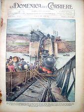 86) 1931 PONTE DI SAN LEONARDO SU LINEA PALERMO - TERMINI DOMENICA DEL CORRIERE