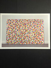 DAMIEN HIRST,  artist's card, Tate Modern gallery, 2012