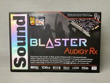 Creative Sound Blaster Audigy Rx 7.1 PCIe Sound Card (SB1550) - New in Box!