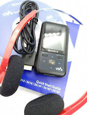 Sony Network Walkman NWZ-S618F MP3 WMA MP4 8GB Digital Media Music Player Black