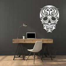 Vinyl Decal Wall Sticker Abstract Illustrations Scull (n663)