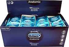 50 Profilattici DUREX preservativi condom ANATOMIC easy on jeans normali